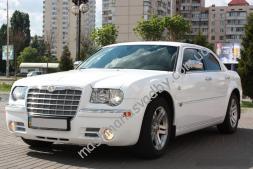 Авто на свадьбу белый Крайслер 300с американский стиль авто свадьба