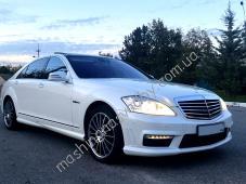 Машина на свадьбу белый Мерседес w221. Заказ авто на свадьбу в Симферополе, Севастополе, Ялте