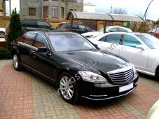 Свадебные машины Мерседес W221 черного цвета Фото